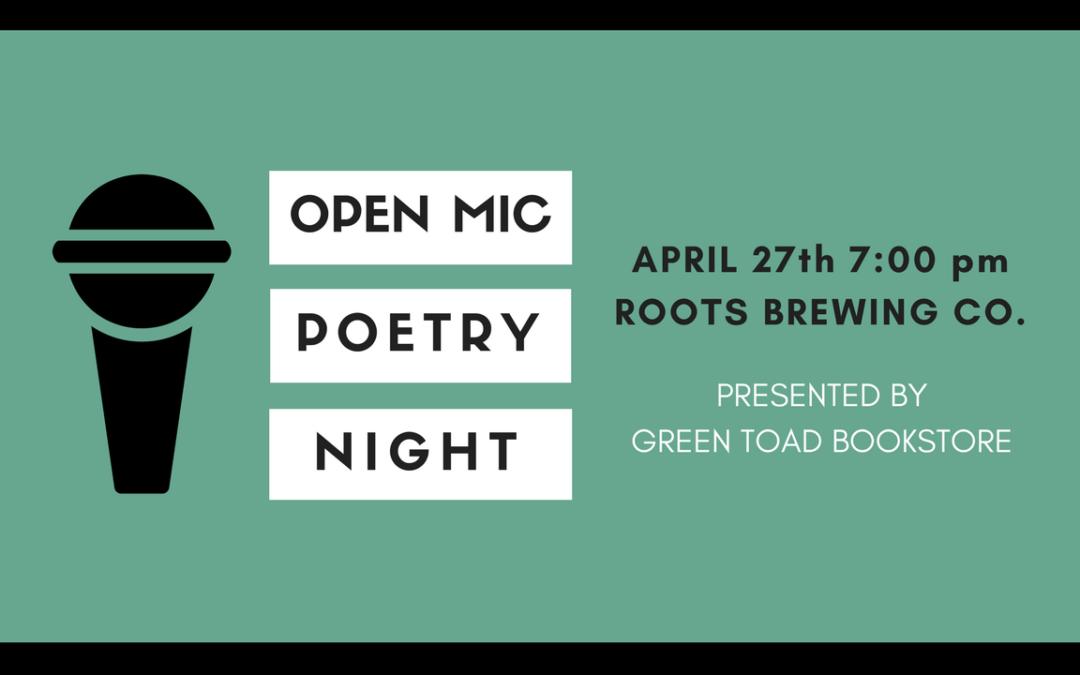 Poetry Night: Open Mic