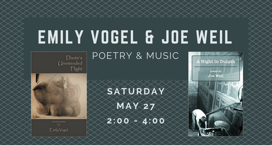 Emily Vogel and Joe Weil: Poetry and Music