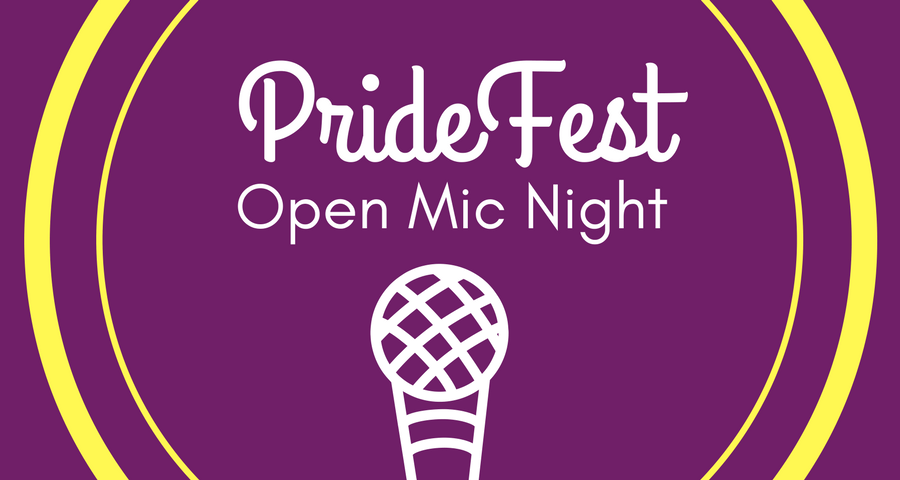PrideFest: Open Mic Night