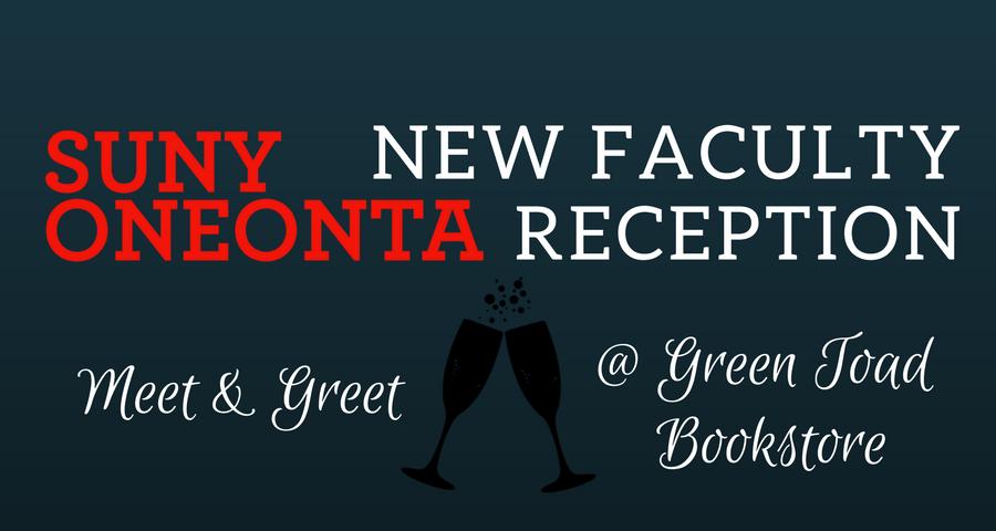 SUNY Oneonta New Faculty Reception